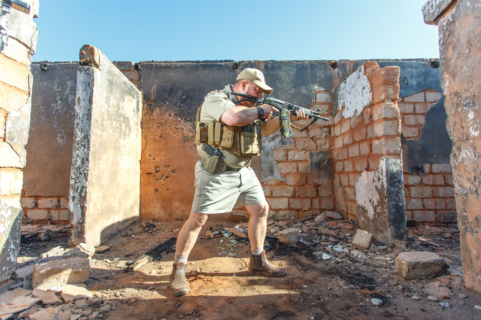 SFC Tactical Solutions / Professional Firearms Training / Level 3